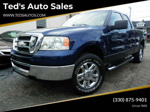 2008 Ford F-150 for sale at Ted's Auto Sales in Louisville OH