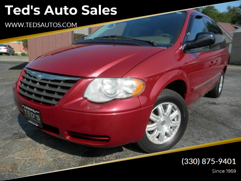 2006 Chrysler Town and Country for sale at Ted's Auto Sales in Louisville OH