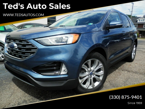 2019 Ford Edge for sale at Ted's Auto Sales in Louisville OH