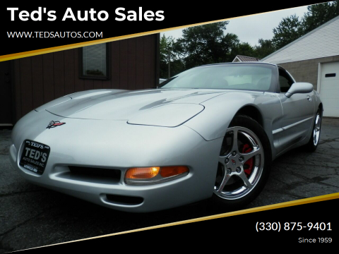 1998 Chevrolet Corvette for sale at Ted's Auto Sales in Louisville OH
