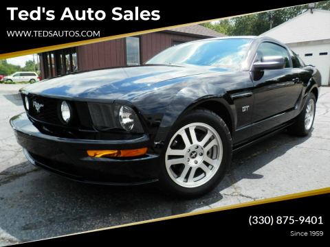 2006 Ford Mustang for sale at Ted's Auto Sales in Louisville OH
