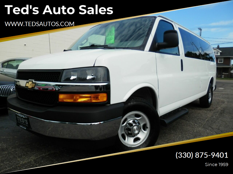2019 Chevrolet Express Passenger for sale at Ted's Auto Sales in Louisville OH