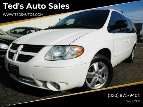 2007 Dodge Grand Caravan for sale at Ted's Auto Sales in Louisville OH