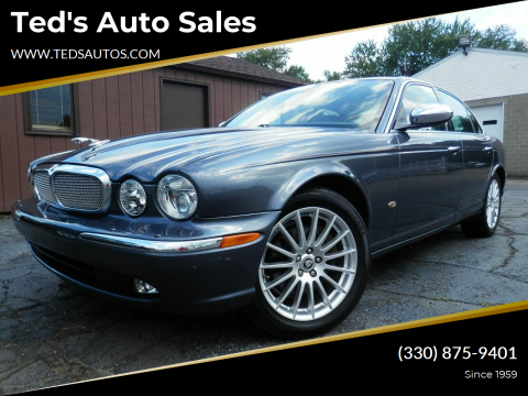 2007 Jaguar XJ-Series for sale at Ted's Auto Sales in Louisville OH