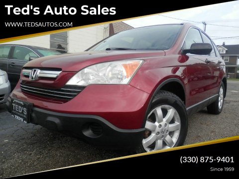 2007 Honda CR-V for sale at Ted's Auto Sales in Louisville OH