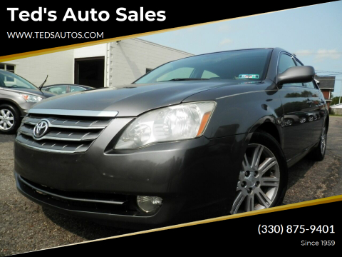 2006 Toyota Avalon for sale at Ted's Auto Sales in Louisville OH