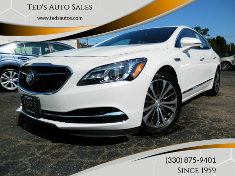 2017 Buick LaCrosse for sale at Ted's Auto Sales in Louisville OH
