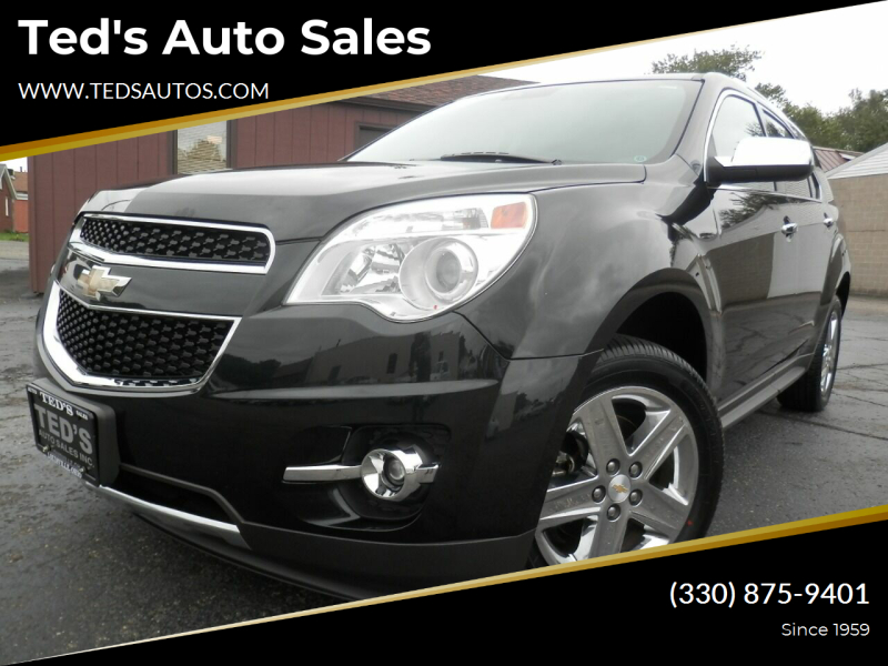 2015 Chevrolet Equinox for sale at Ted's Auto Sales in Louisville OH