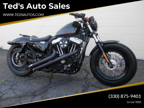 2012 HARLEY DAVIDSON XL1200X for sale at Ted's Auto Sales in Louisville OH