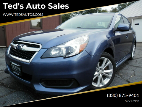 2014 Subaru Legacy for sale at Ted's Auto Sales in Louisville OH