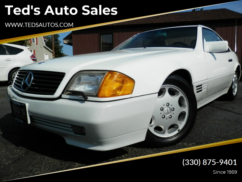 1991 Mercedes-Benz 500-Class for sale at Ted's Auto Sales in Louisville OH