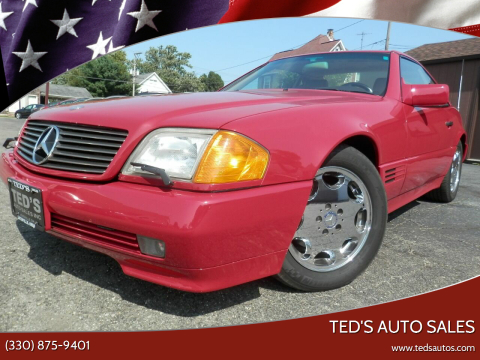 1994 Mercedes-Benz SL-Class for sale at Ted's Auto Sales in Louisville OH