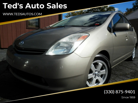 2005 Toyota Prius for sale at Ted's Auto Sales in Louisville OH