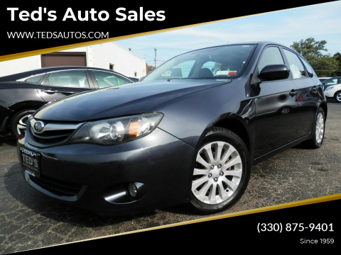 2010 Subaru Impreza for sale at Ted's Auto Sales in Louisville OH