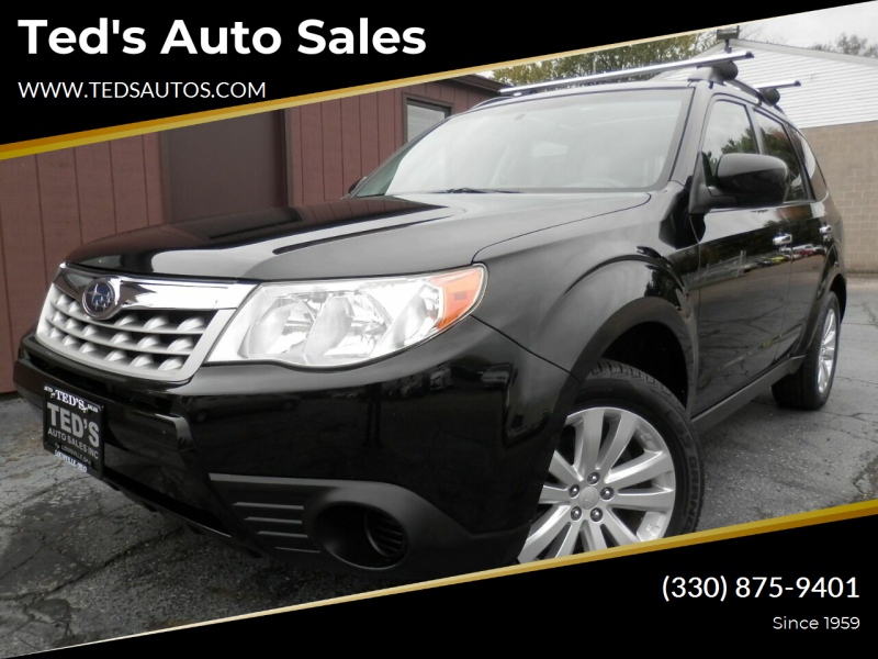 2013 Subaru Forester for sale at Ted's Auto Sales in Louisville OH