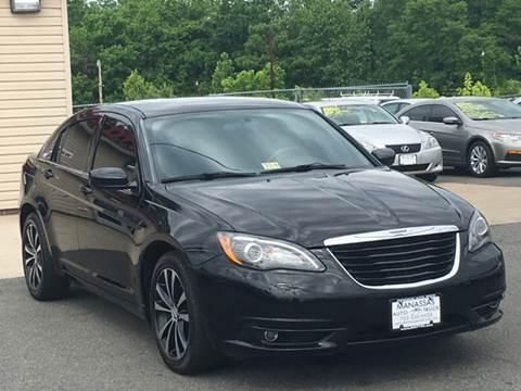 2012 Chrysler 200 for sale in Manassas, VA