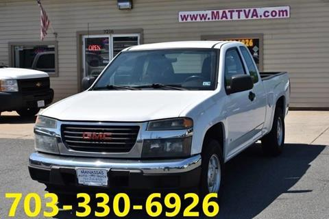 2007 GMC Canyon for sale in Manassas, VA