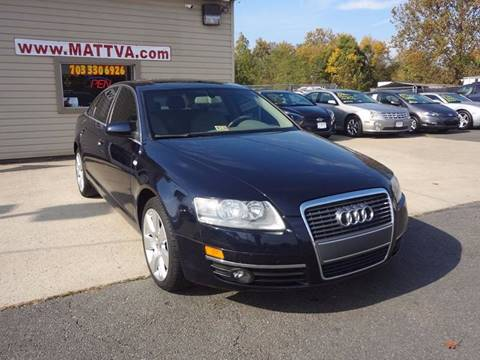 2006 Audi A6 for sale in Manassas, VA