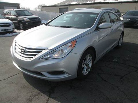 2013 Hyundai Sonata for sale at Major Car Inc in Murray UT