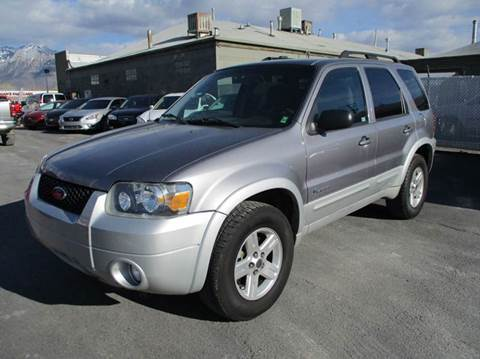 2007 Ford Escape Hybrid for sale in Murray, UT