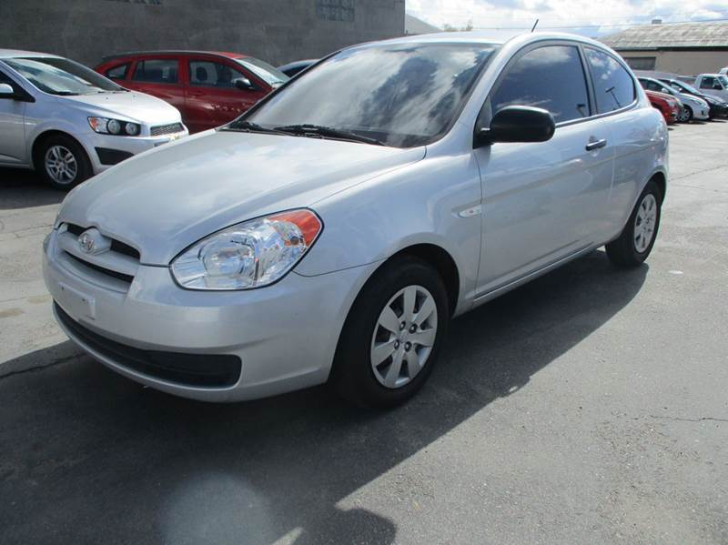 2010 Hyundai Accent Blue 2dr Hatchback 5M In Murray UT  Major Car Inc