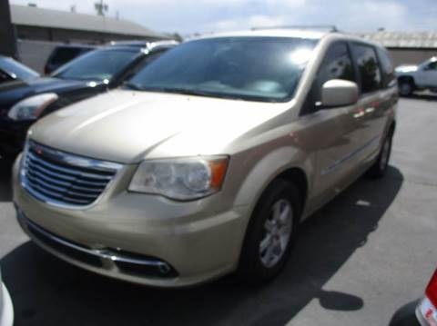 2011 Chrysler Town and Country for sale at Major Car Inc in Murray UT