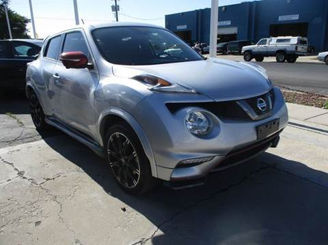 2015 Nissan JUKE for sale at Major Car Inc in Murray UT