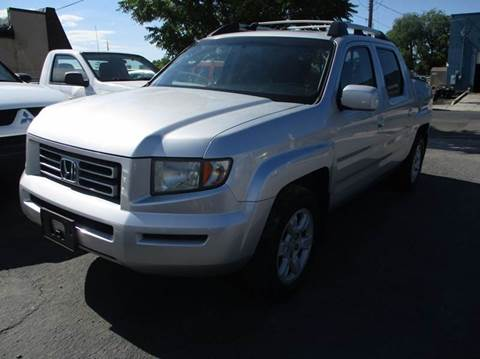 2006 Honda Ridgeline for sale at Major Car Inc in Murray UT