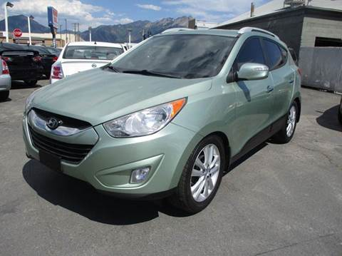 2011 Hyundai Tucson for sale at Major Car Inc in Murray UT