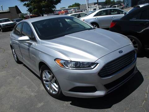 2013 Ford Fusion for sale at Major Car Inc in Murray UT