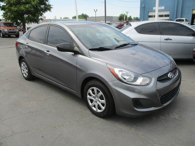 2013 Hyundai Accent for sale at Major Car Inc in Murray UT