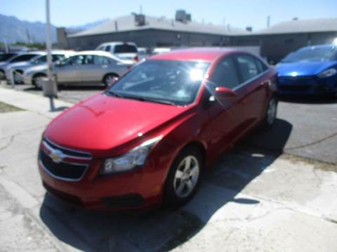 2013 Chevrolet Cruze for sale at Major Car Inc in Murray UT