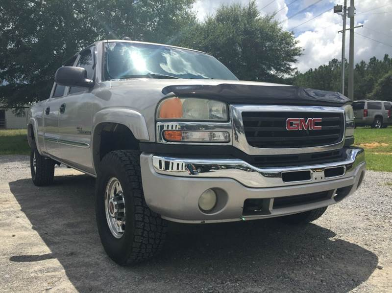 2005 gmc sierra 2500hd 4dr crew cab slt 4wd sb in gulfport ms specialty auto sales. Black Bedroom Furniture Sets. Home Design Ideas