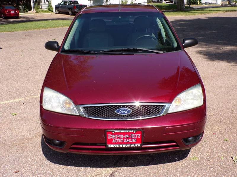 2007 ford focus zx4 ses 4dr sedan in ogden ut drive n buy auto sales. Black Bedroom Furniture Sets. Home Design Ideas
