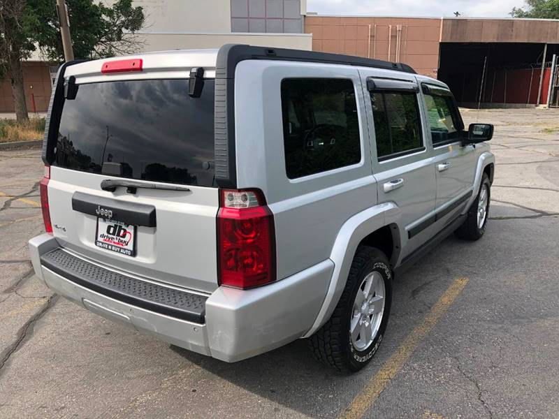 2008 Jeep Commander 4x4 Sport 4dr Suv In Ogden Ut Drive N Buy Auto