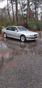 2001 BMW 7 Series 740iL for sale at East Coast Exotics in Yorktown VA