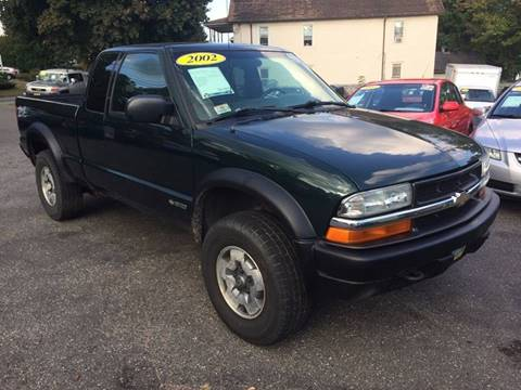 2002 Chevrolet S-10 for sale in Agawam, MA