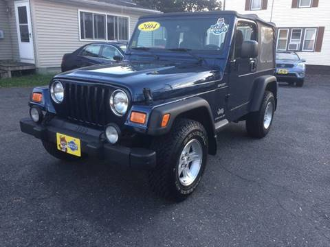 2004 Jeep Wrangler for sale in Agawam, MA