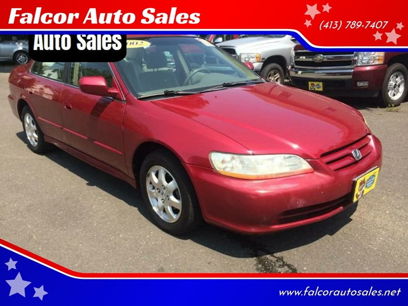 2002 Honda Accord EX 4dr Sedan   Agawam MA