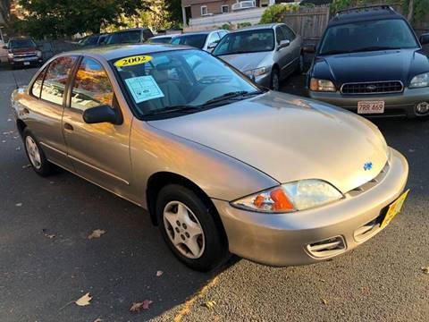 2002 Chevrolet Cavalier for sale in Agawam, MA