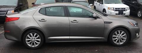 2014 Kia Optima for sale at GREAT DEAL AUTO SALES in Center Line MI