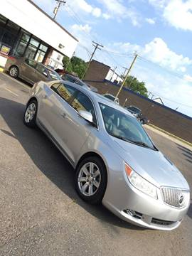 2010 Buick LaCrosse for sale at GREAT DEAL AUTO SALES in Center Line MI
