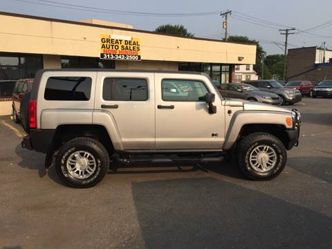 2007 HUMMER H3 for sale at GREAT DEAL AUTO SALES in Center Line MI