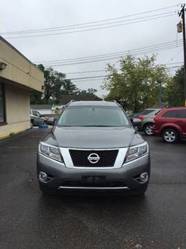 2015 Nissan Pathfinder for sale at GREAT DEAL AUTO SALES in Center Line MI