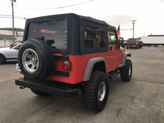 2005 Jeep Wrangler Unlimited 4WD 2dr SUV - Whitney Point NY