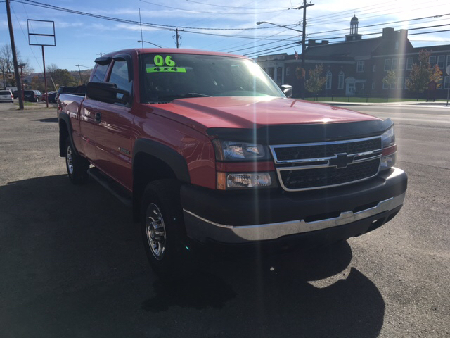2006 Chevrolet Silverado 2500HD Work Truck 4dr Extended Cab 4WD SB - Whitney Point NY
