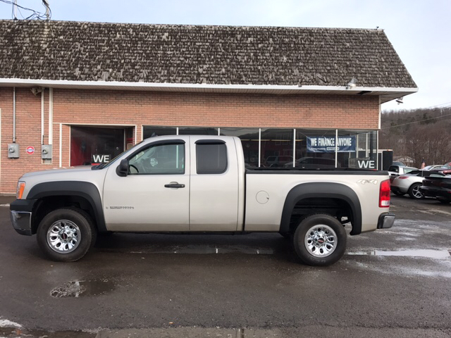 2009 GMC Sierra 1500 4x4 Work Truck 4dr Extended Cab 6.5 ft. SB - Whitney Point NY