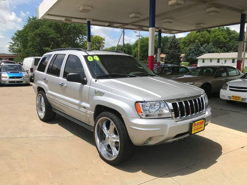 2004 Jeep Grand Cherokee for sale at King Auto Sales in Omaha NE