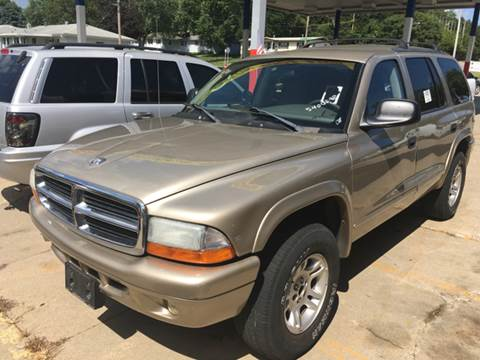2003 Dodge Durango for sale at King Auto Sales in Omaha NE