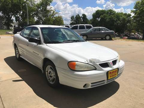 2001 Pontiac Grand Am for sale at King Auto Sales in Omaha NE